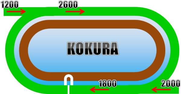 小倉競馬場の芝コース